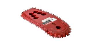 "Rock Saw Blade | 4"" blade width | Dome carbides | 6 x 16mm bolt pattern"