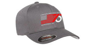 75th Anniversary Hat | L/XL | Charcoal & Red