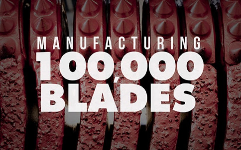 Happy 100,000th Blade Day!
