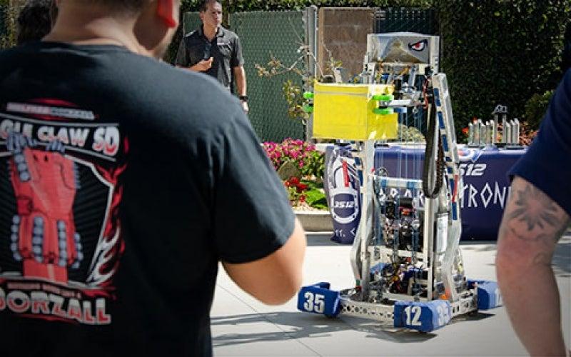 Local Student Robotics Teams Are Crushing It