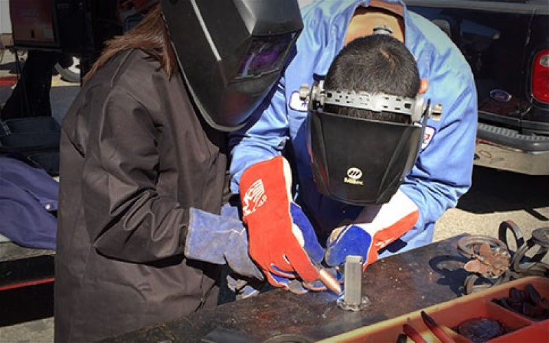 The Next Generation of Welders, Right Here at Home
